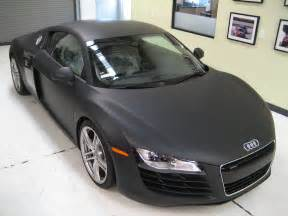 car magazine audi r8 matte black