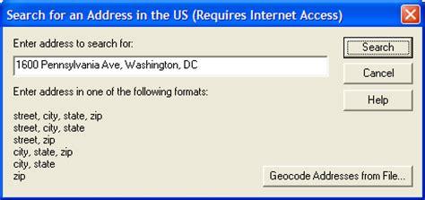 Address Finder Us Global Mapper User S Manual