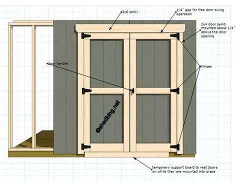 Storage Shed Door Ideas by Best 25 Shed Doors Ideas On Garden Shed Door