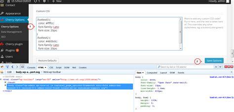 css tutorial header footer css footer code phpsourcecode net