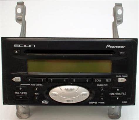 scion xa radio 2004 2005 scion xa factory oem stereo mp3 cd player radio