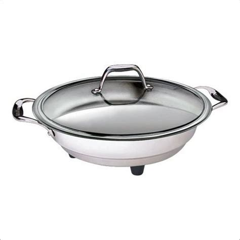 classic stainless steel electric skillet 16 inches