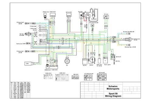 pride mobility scooter wiring diagram  electrical
