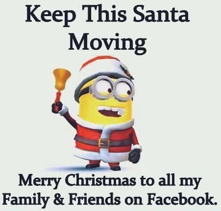 minion santa merry christmas quote pictures   images  facebook tumblr pinterest