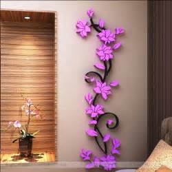 sale wall stickers home decor bedroom decoration flowers sticker butterfly the decals