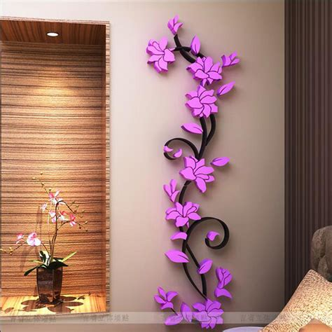 flower wall stickers for bedrooms aliexpress com buy free shipping flower hot sale wall