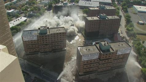 Garden Apartments Northern Nj Montgomery Gardens Housing Complex In Jersey City Imploded