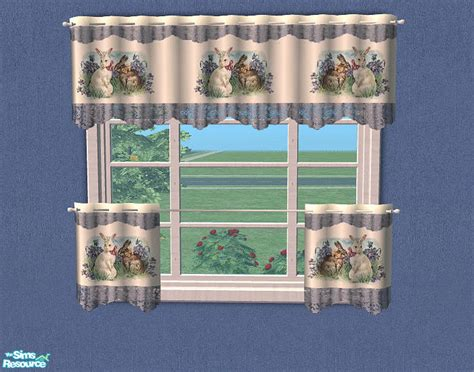 Bitzybus Kitchen Curtains Easter Recolor 7