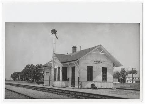 union pacific railroad company depot winona kansas