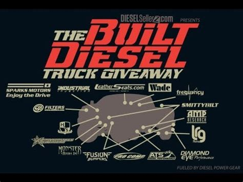 Diesel Power Giveaway - truck giveaway autos post