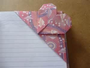 Origami Bookmark Corner - origami corner bookmarks atelier ilyere