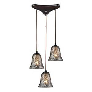 Pendant Light Fixtures Elk Lighting 46000 3 Darien 3 Light Multi Pendant Ceiling Fixture