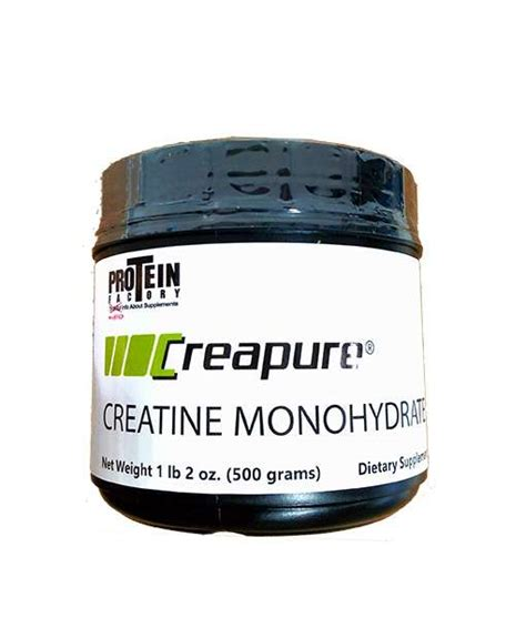 creatine or creapure creapure 500 grams 3rd lab tested to guarantee