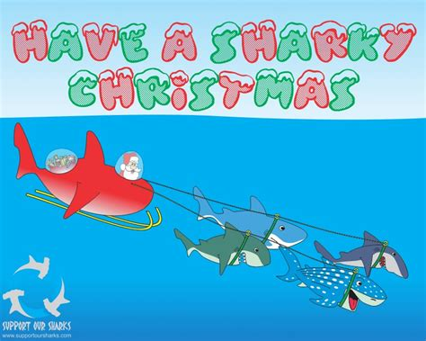 newest kid fish for christmas shark happy holidays to each and every one of you