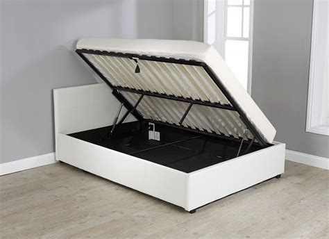 beds that raise up side lift up 3ft ottoman bed single faux leather storage
