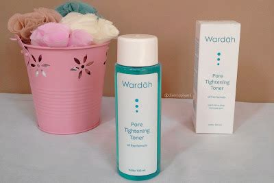 Wardah Pore Tightening Toner wardah pore tightening toner review beaufavele by