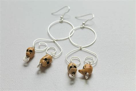 interchangable wire wrapped earring tutorial emerging
