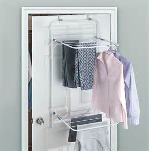door clothes drying rack utility storage laundry