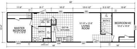 14x60 mobile home floor plans flora 14 x 60 799 sqft mobile home factory expo home centers