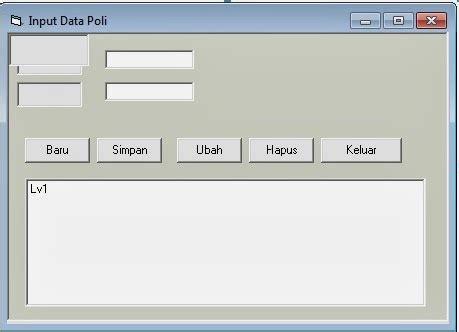 membuat database rekam medis aplikasi rekam medis vb 6 tutorial delphi dan database