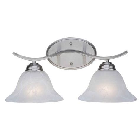 minka lavery downtown edison brushed nickel two light bath outdoor