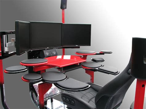 Modern Ergonomic Computer Chairs Interior Decorating Idea Coolest Office Desk