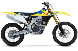Suzuki Rmz 450 Parts Suzuki Reveals New 2018 Rmz450 Motohead