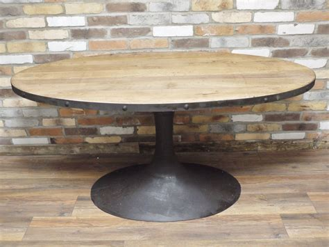 Reclaimed Wood Oval Dining Table Industrial Retro Vintage Reclaimed Wood Metal Oval Dining Kitchen Table D4495 Ebay