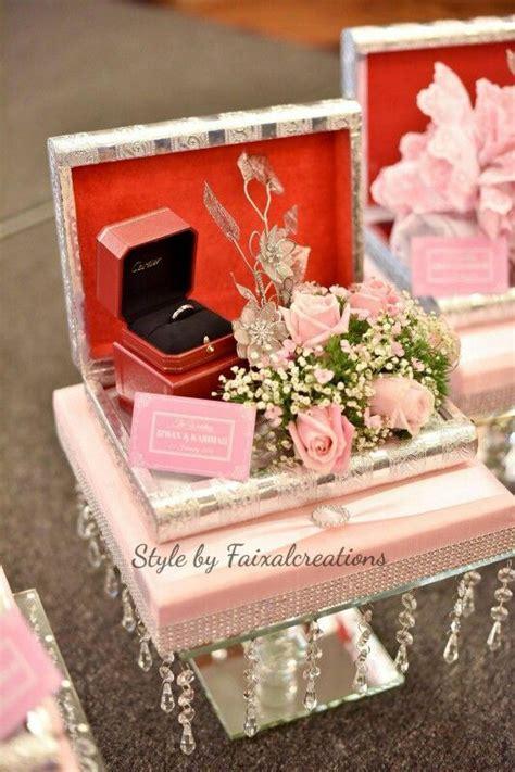 Cincin Bunga Handmade hantaran fresh flower pastel pink hantaran