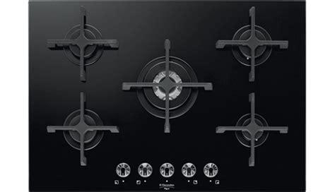 piano cottura nero 5 fuochi electrolux piano cottura 5 fuochi incasso a gas 75 cm