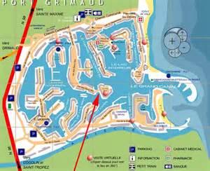 port grimaud 11111 port grimaud 0 map karta carte