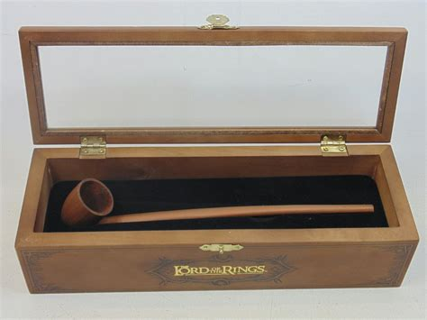 Decorative Display Cases by Lord Of The Rings Pipe Of Gandalf In Decorative Display