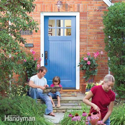 how to replace an exterior door frame how to replace an exterior door family handyman