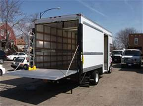 rental trucks with lift gate truck rental chicago chicagoland truck rental call