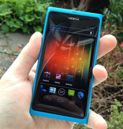 Hp Nokia N9 Android how to run android sandwich on the nokia n9
