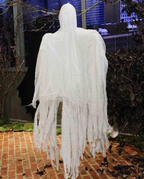 Outdoor Ghost Decorations by Ghost Decorations Martha Stewart