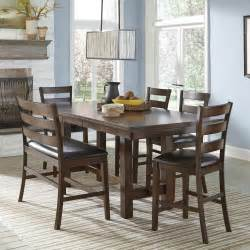 elegant counter height dining tagged with dining room set pub style dining room set with bench