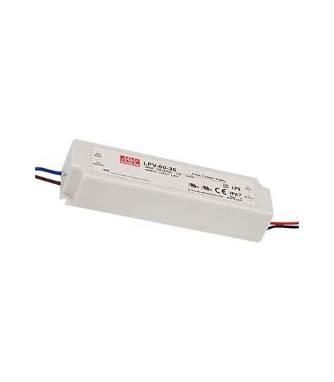 Power Supply Well Led Driver Lpv 60 24 well lpv 60 24 24v 60w ip67 svetila en