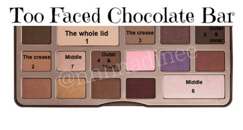 Faced Chocolate pic tutorial faced chocolate bar the makeup honey