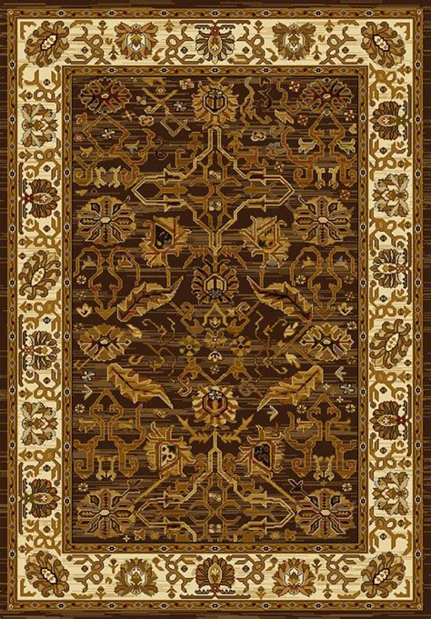 Canvas Rug by U W Affinity 750 01150 Canvas Brown Rug