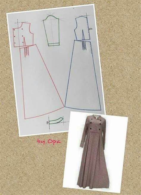 Tote Bag Hijabers maxi dress pattern pecah pola breasted peacoat
