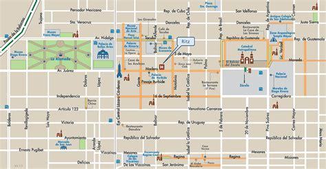 imagenes centro historico ciudad mexico mapa de ubicacion hotel ritz centro hist 243 rico ciudad de