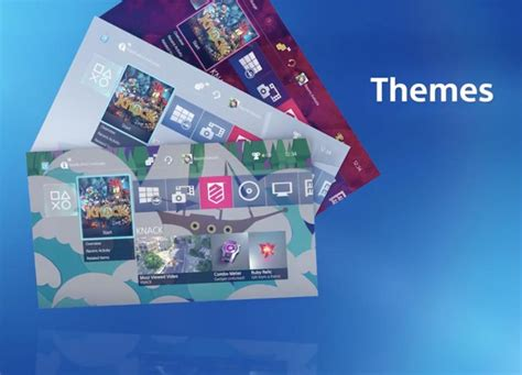 ps4 themes download uk ps4 2 0 feature list official reminder product reviews net