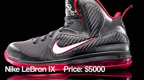 the most expensive basketball shoes top 10 most expensive basketball shoes 2015 hd