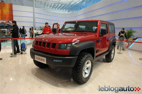 Jeep Chion Jeep Rover O Land Wrangler Estos Chinos Increibles