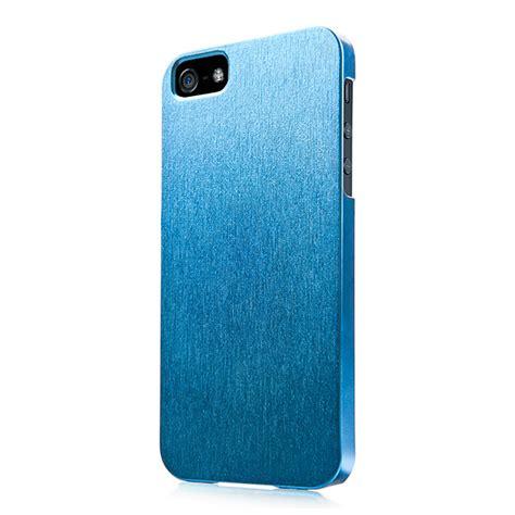 iphonese 5s 5 ケース karapace jacket silva satin blue