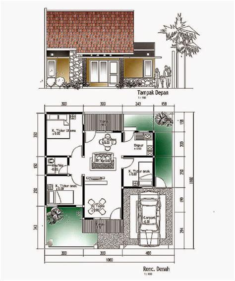 layout denah rumah model dan denah rumah minimalis design rumah minimalis