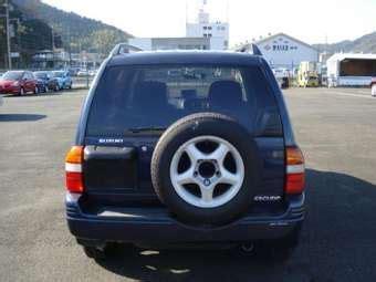 1998 suzuki escudo pictures, 2.0l., gasoline, automatic