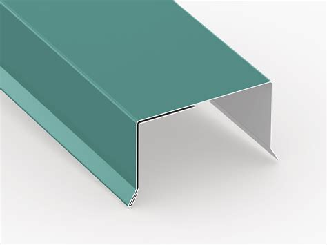 perimeter edge flashing  slope roof sheet metal supply