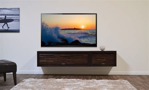 furniture appealing floating tv cabinets brings marvelous